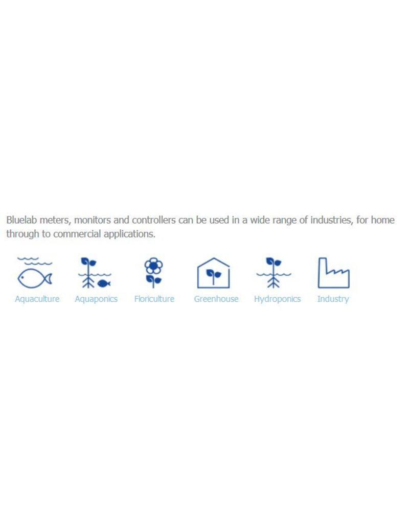 BlueLab PH meter, EC meter, en Temperatuurmeter Guardian Monitor