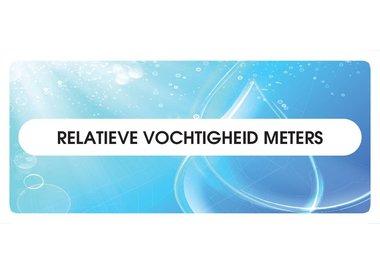 Relatieve vochtigheid meters