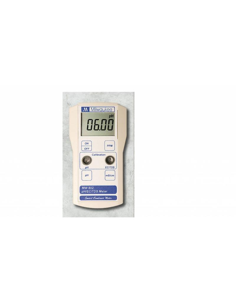 Milwaukee MW802 Kombinationszähler pH / EC / TDS