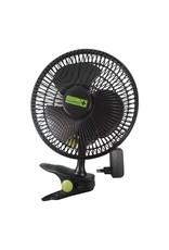 Garden High Pro Clip Fan ECO (20cm Lüfter) schwarz mit Clip Ultra-Efficient
