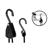 LIGHTHANGER Rope Ratchet - Kunststoff 5 kg Aufhängekapazität / Paar