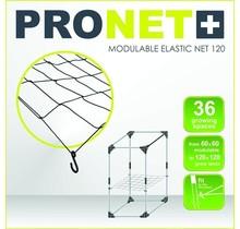 PRONET MODULABLE 120 x 120 Modulable elastic net 6x6 = 36 growing spaces