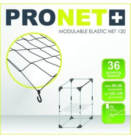 Garden High Pro PRONET MODULABLE 120 x 120 Modulable elastic net 6x6 = 36 growing spaces