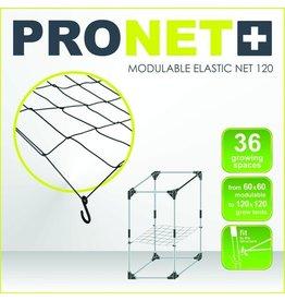 Garden High Pro PRONET MODULIERBAR 120 x 120 Modulierbares elastisches Netz 6x6 = 36 Wachstumsräume
