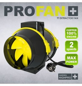 Garden High Pro GardenHighPro Profan TT Extractor Fan 100mm 2 speed