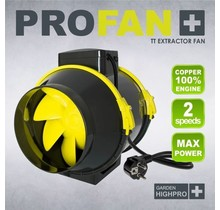 GardenHighPro Profan TT Extractor Fan 125mm 2 speed