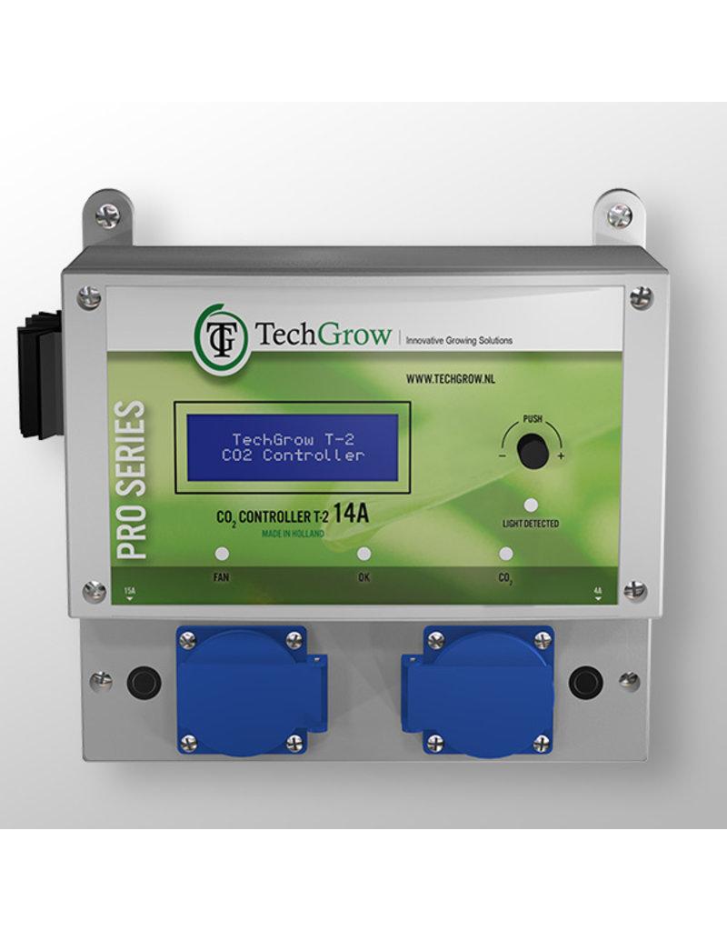 Techgrow TechGrow T-2 Pro Co2 controller 14A (excl S-4 sensor)