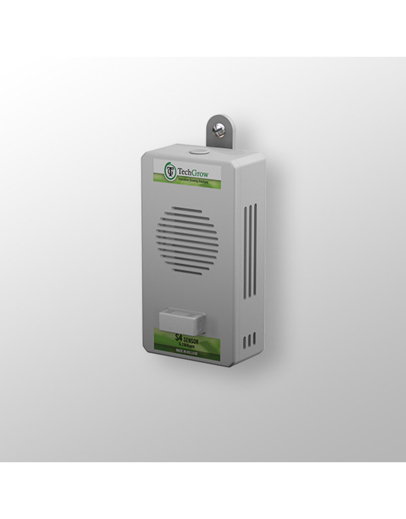 Techgrow TechGrow Sensor S-4 / 0-2,000ppm (auto calibrate)