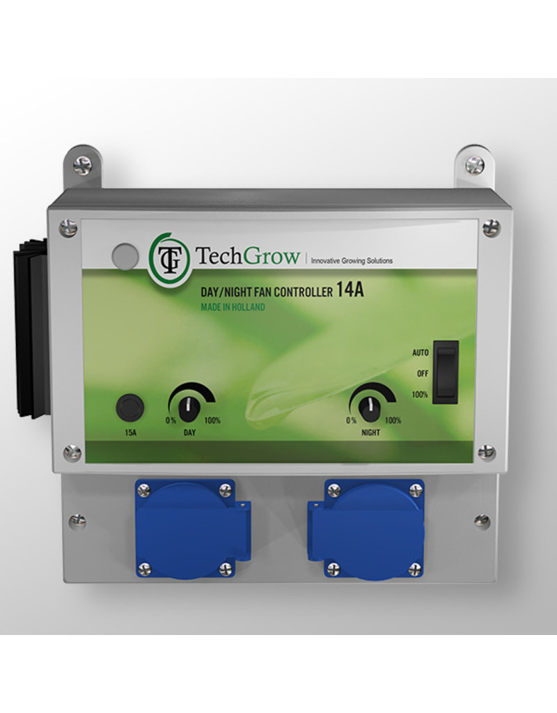 Techgrow TechGrow Day / Night fan controller 7A (int light sensor)