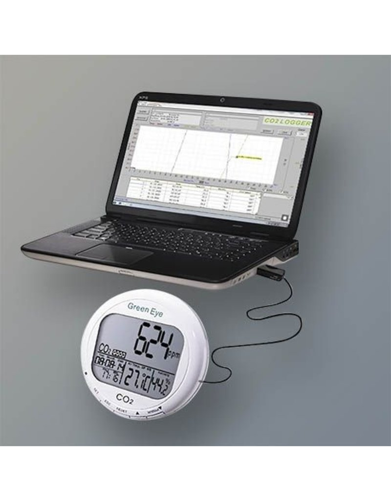 Techgrow TechGrow Green Eye Co2 Meter + Logger  CO2/Temp/RH + Logger