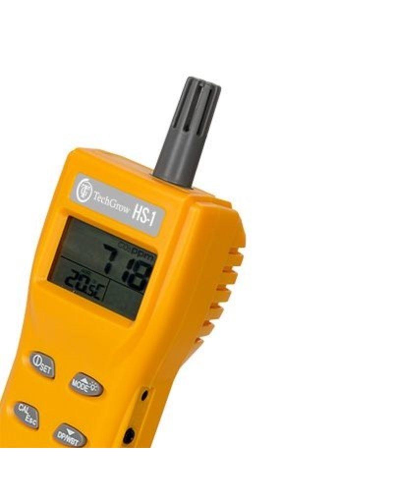 Techgrow Techgrow HS-1 tragbares CO2 / Temp-Messgerät