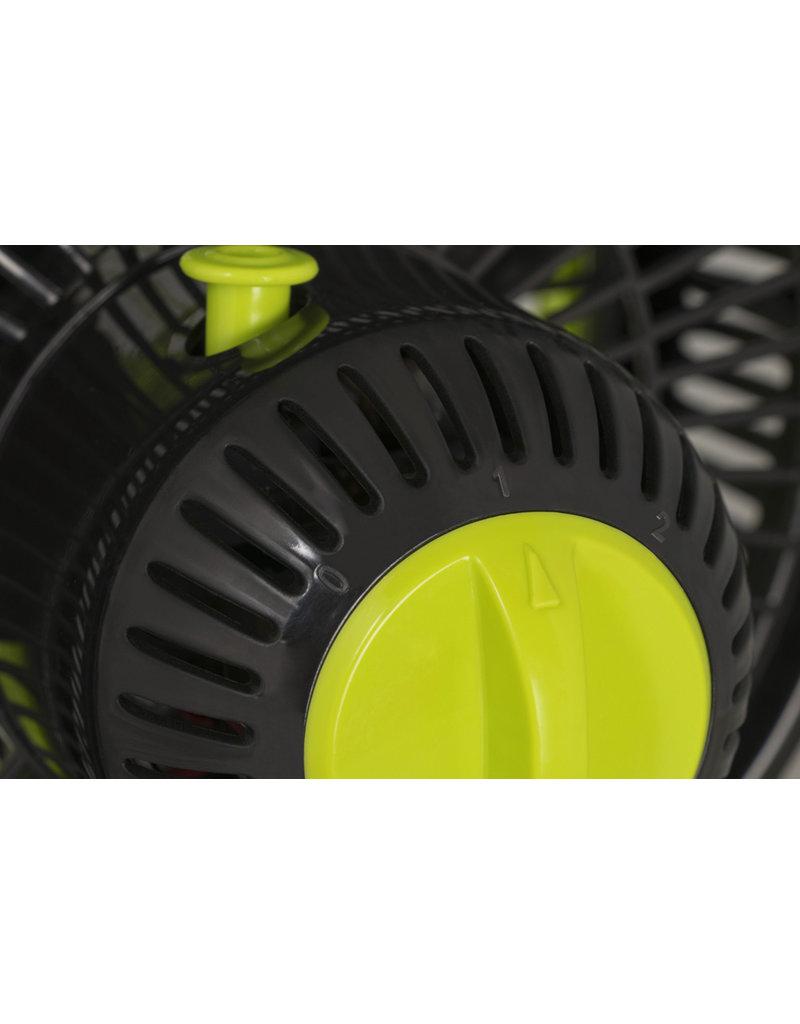 Garden High Pro Garden HighPro 25cm Clipfan Tafelventilator, 2-snelheden, zwenkfunctie