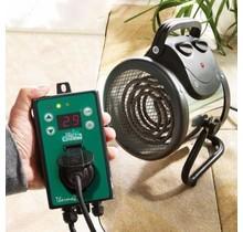 Kasverwarming-Elektrischeventilatorkachel''Palma2kW''(ThermostatDigital)