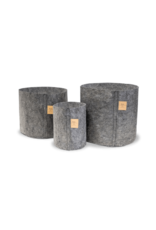 ROOTPOUCH CHARCOAL 3,8 ltr,25st/bundel, 150gr/m2