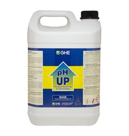 GHE pH Up (pH+) 5 liter