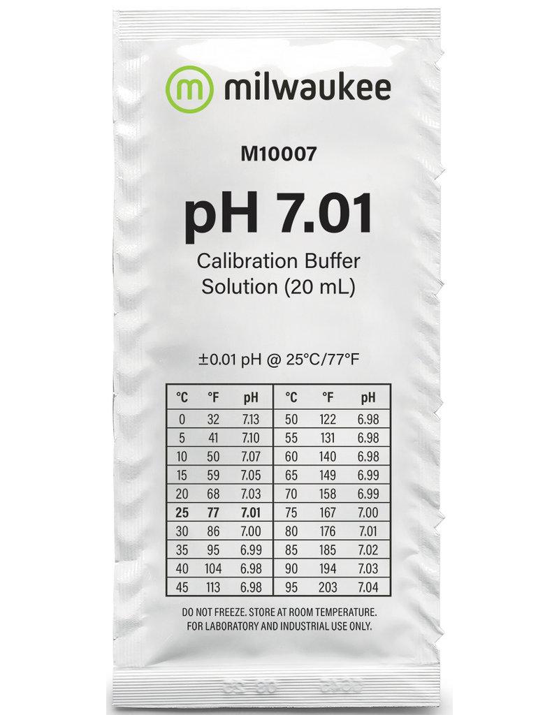 Milwaukee M10007B pH 7.01 25 x 20ml zakjes