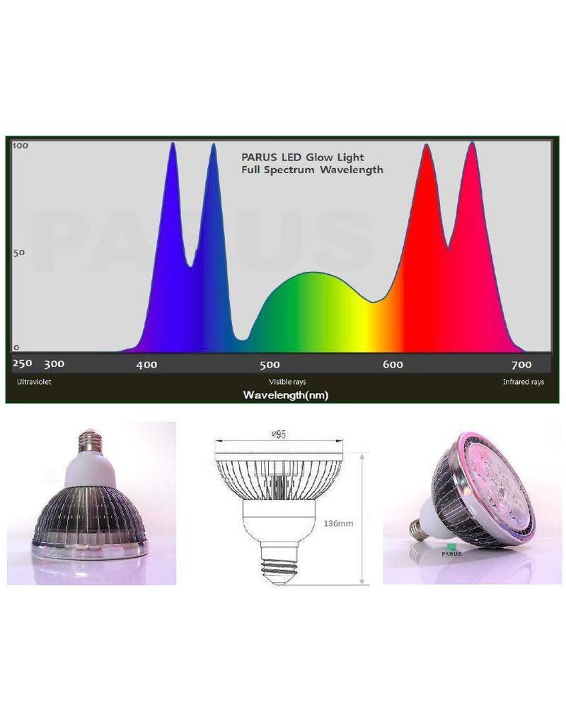 Parus LED wachsen Licht 18 Watt E27 Wachstumsstimulation