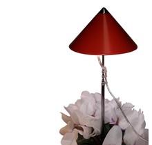 LED Kweeklamp iSun-Pole 7 Watt Rood