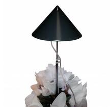 LED wachsen Licht 10 Watt Isun Pole Graphite mit Steuerpult