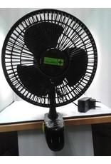 Garden High Pro Clipventilator (Clipfan) 15cm zwart met bevestigingsclip