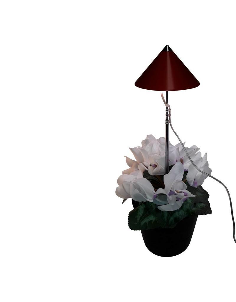 Parus LED wachsen Licht 7 Watt Red Isun Pole mit Steuerpult
