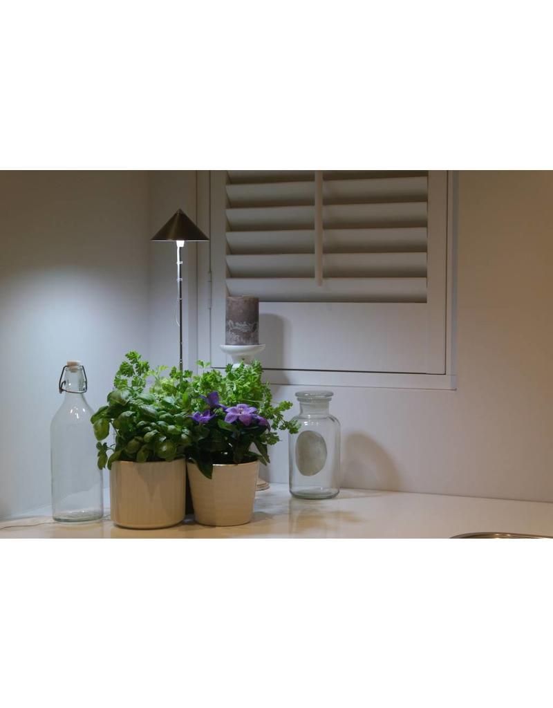Parus LED Kweeklamp iSun-Pole 7 Watt Rood Met Controller