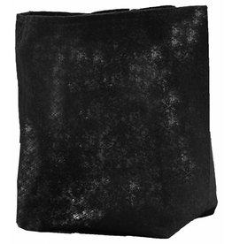 ROOTPOUCH Thin BLACK 2,3 ltr,50st/bundel, 90gr/m2