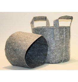 ROOTPOUCH GRAU 30 ltr mit GRIFF, 10 Stück / Bündel, 250 g / m2