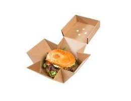 Unbranded burger boxes