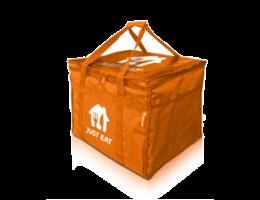 Just Eat Branded Hot Food Delivery Bag Large RECYCLED RANGE