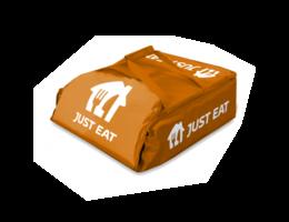 "Just Eat branded Pizza Delivery Bag 16"""
