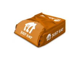 "Just Eat branded Pizza Delivery Bag 18"""