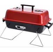 BBQ Collection Houtskool tafel barbecue rechthoekig metaal