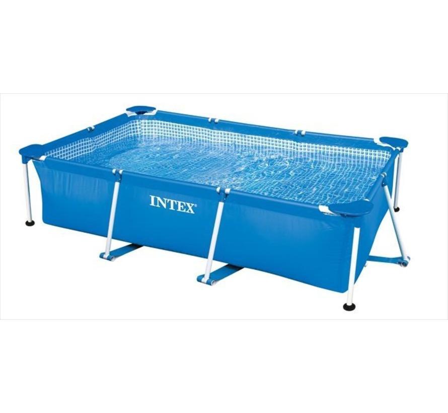 Metalen frame zwembad - rechthoekig - 260cm x 160cm x 65cm