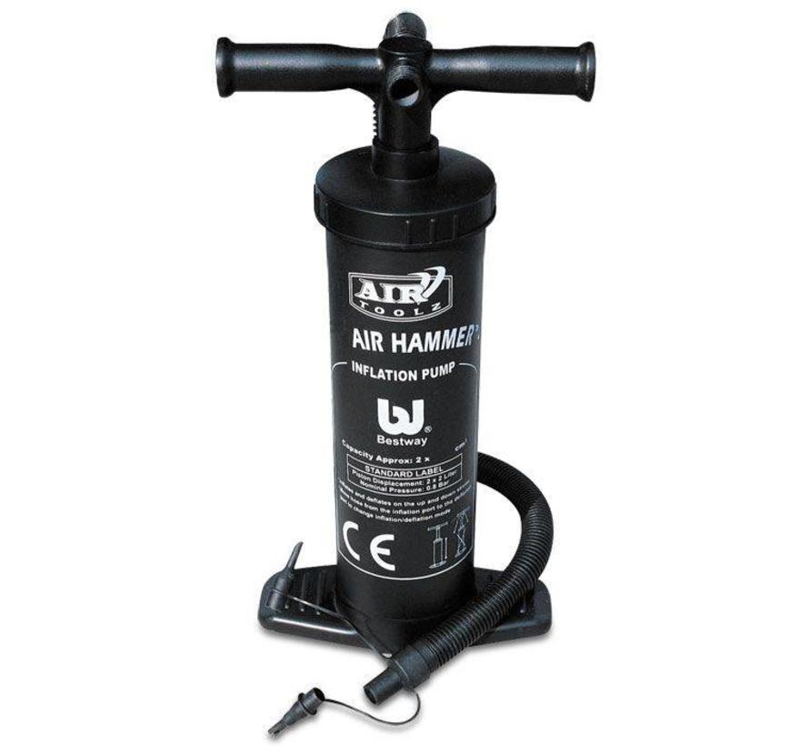 Air Hammer - handpomp - 37cm hoog