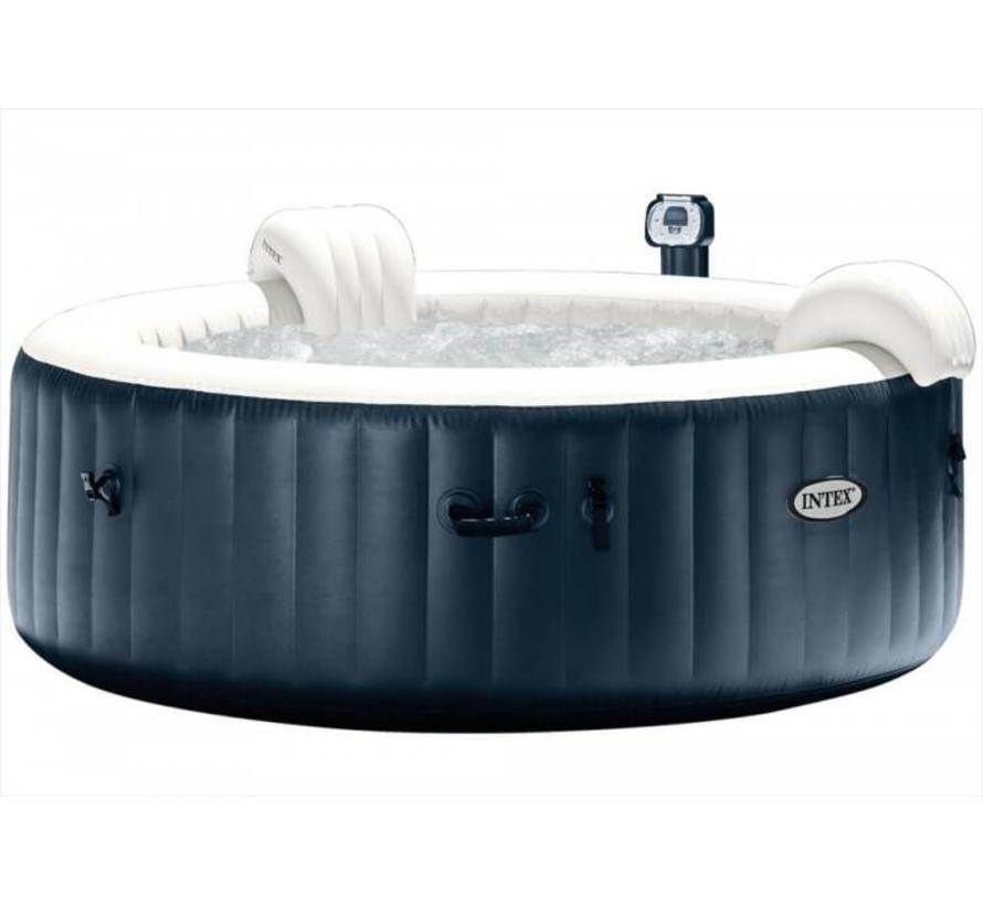 Opblaasbare 6-Persoons PureSpa Plus Bubble Massage Navy (Ø:216cm)