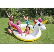 Intex Spray zwembad eenhoorn - 272x193x104cm