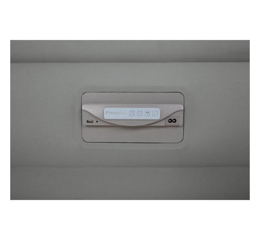 PremAire zelfopblazend twijfelaar luchtbed USB + lamp (191x137x46cm)