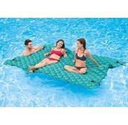 Intex Opblaasbare MEGA drijvende mat - turquoise - 290x213cm