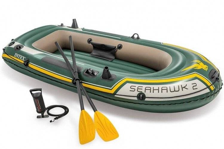 Intex Seahawk 2pers. Boot Set