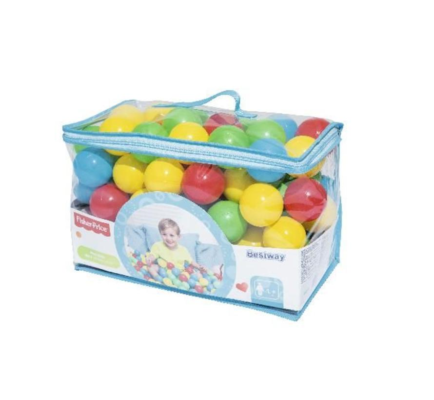 Fisher Price - 100 ballenbak ballen - Ø6,5cm diameter