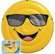 Intex Smiley - opblaasbaar luchtbed - Ø173 diameter x 27cm hoog