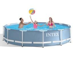 Intex Prism frame zwembad (Ø:366cm - 76cm hoog)