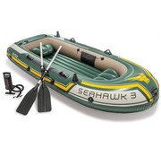 Intex 3-Persoons opblaasbare boot set - Seahawk 3