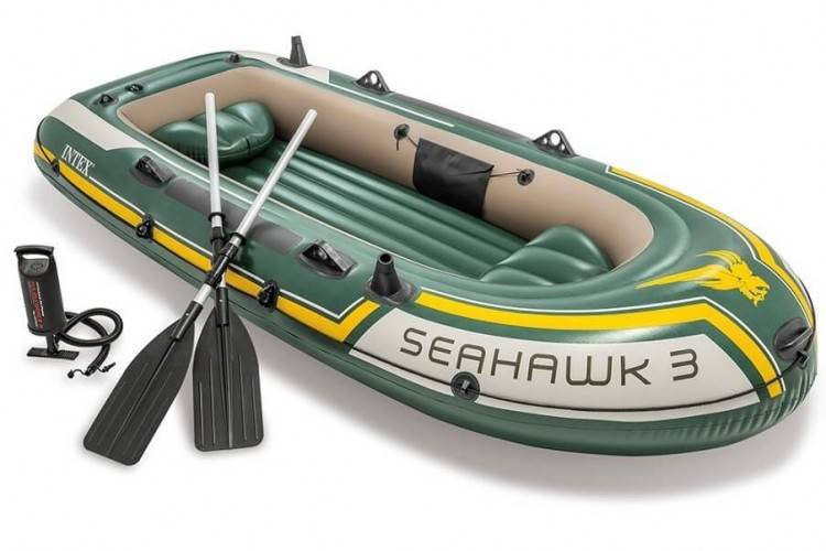 Opblaasbare Boot set Seahawk 3 Intex