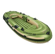 Bestway 3-Persoons opblaasbare raft boot set - Hydro-Force - Voyager 500 - 348x141x51cm