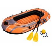 Bestway Kondor 2000 set - opblaasbare raft boot -met peddels - met pomp - 188x98x30cm