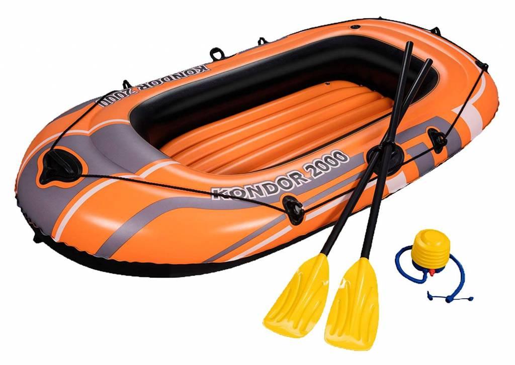 Dagaanbieding - Opblaasbare Raft Boot Kondor 2000 Set dagelijkse koopjes