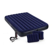 Intex Classic Downy Ruim 2-Persoons Luchtbed Set (203x152x22cm)