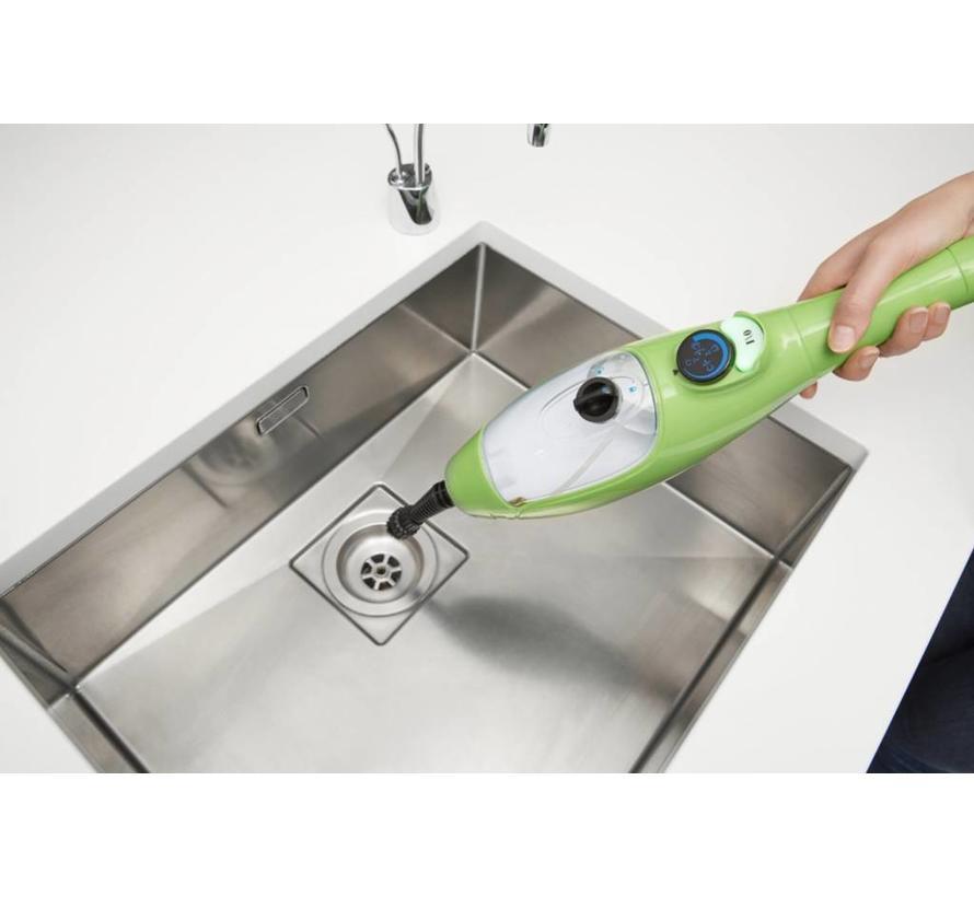 H2O X5 - stoomreiniger set - groen